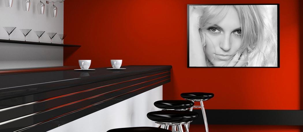 Foto su tela personalizzata con foto